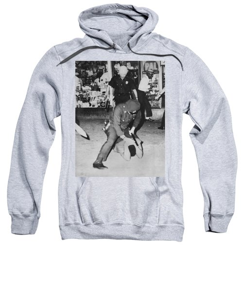 Harlem Race Riots Sweatshirt by Underwood Archives