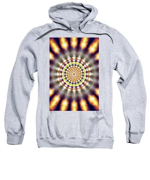 Harmonic Sphere Of Energy Sweatshirt by Derek Gedney