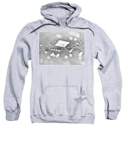 Hartddrive High Key Black And White Sweatshirt