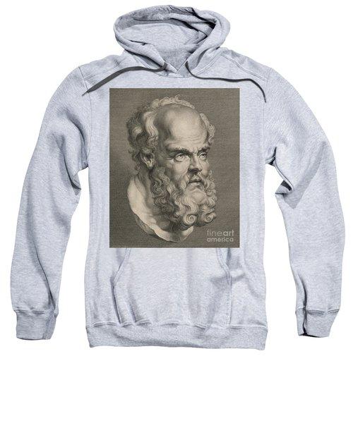 Head Of Socrates Sweatshirt