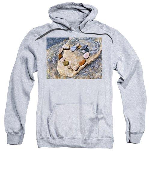 Heart And Stones  Sweatshirt