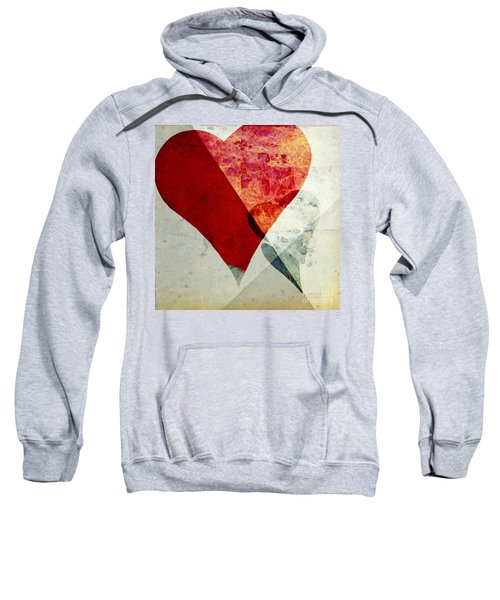 Hearts 6 Square Sweatshirt