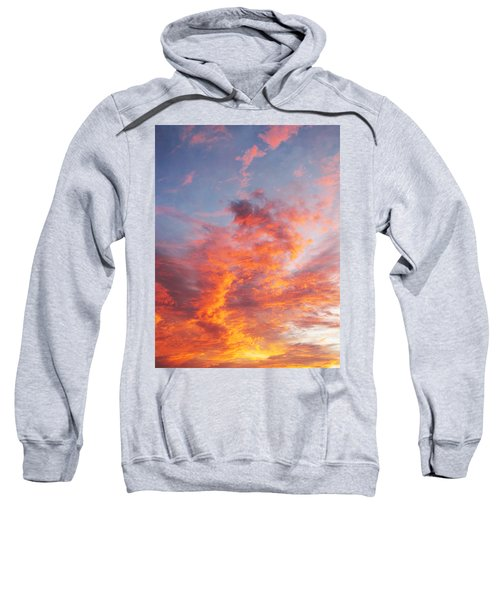 Heavenly Tumult In Florida Sunset Sweatshirt