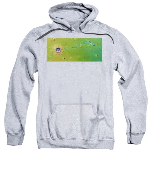 Hephaestus Fossae, Mars Sweatshirt