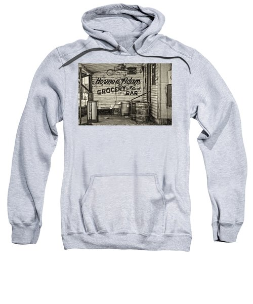 Herman Had It All - Sepia Sweatshirt