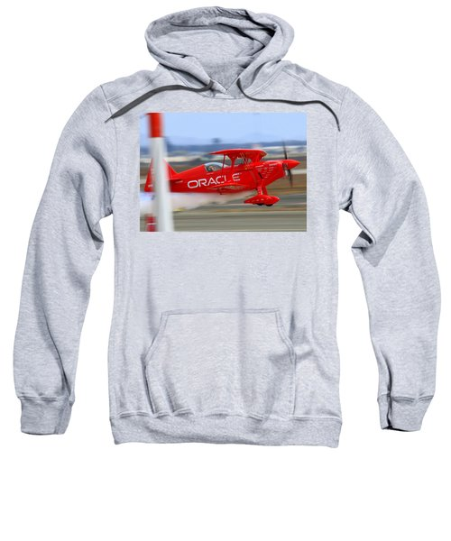 Hi Speed Low Pass By Sean Tucker At Salinas Ksns Air Show Sweatshirt