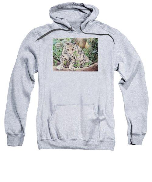 Hidden In Plain Sight - Clouded Leopard Sweatshirt