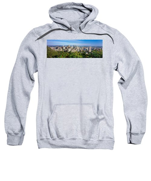 High Angle View Of A Cityscape, Parc Sweatshirt