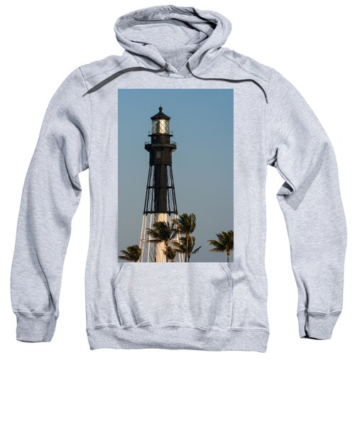 Hillsboro Inlet Lighthouse In The Evening Sweatshirt