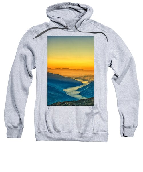 Himalaya In The Morning Light Sweatshirt