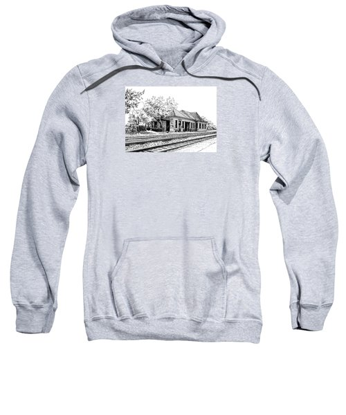Hinsdale Train Station Sweatshirt