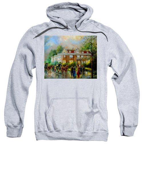 Historical Architecture Indiana Baker House Mansion  Sweatshirt