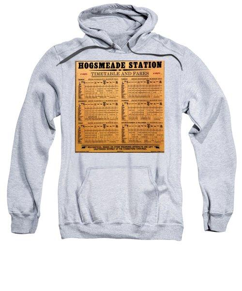 Hogsmeade Station Timetable Sweatshirt