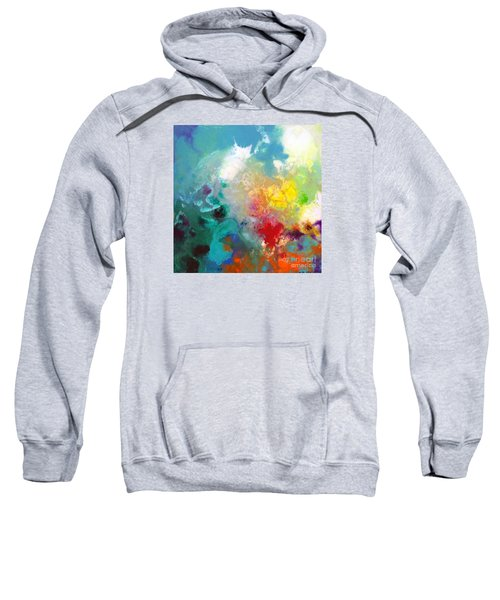 Holding The High Watch Canvas One Sweatshirt