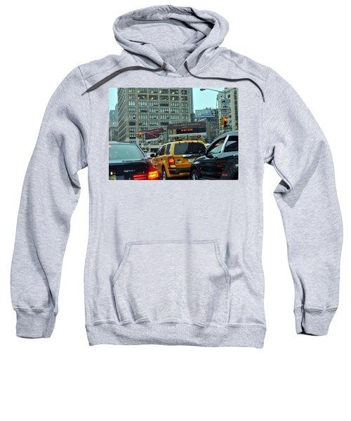 Holland Tunnel Traffic Sweatshirt