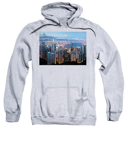 Hong Kong At Dusk Sweatshirt