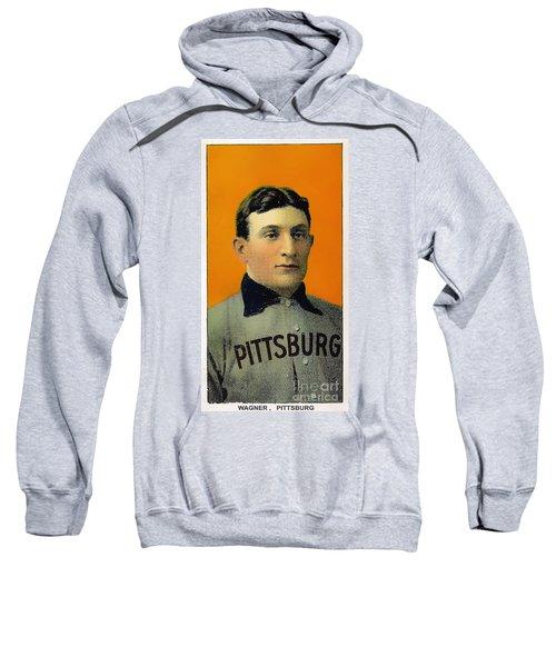 Honus Wagner Baseball Card 0838 Sweatshirt