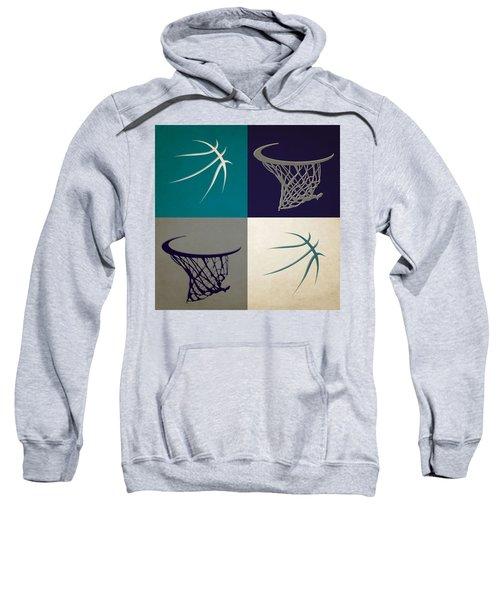 Hornets Ball And Hoop Sweatshirt