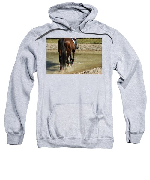 Horse In Water Sweatshirt