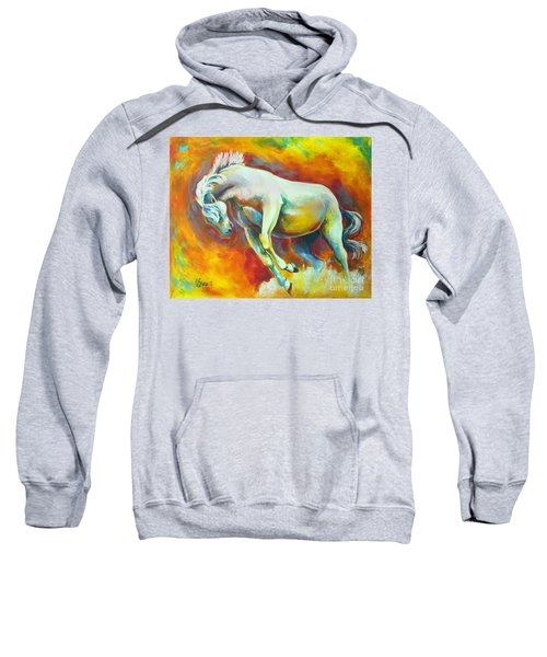 Horse On Fire Sweatshirt