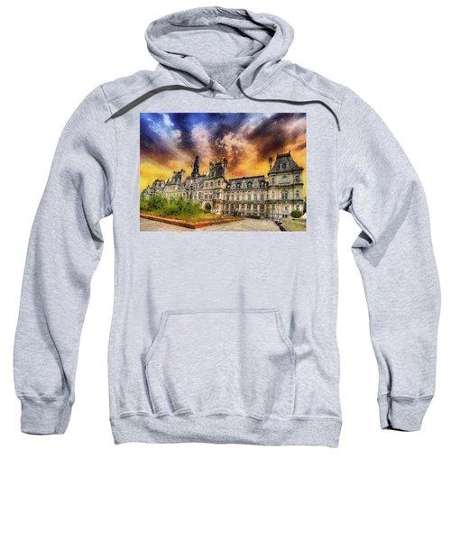 Sunset At The Hotel De Ville Sweatshirt