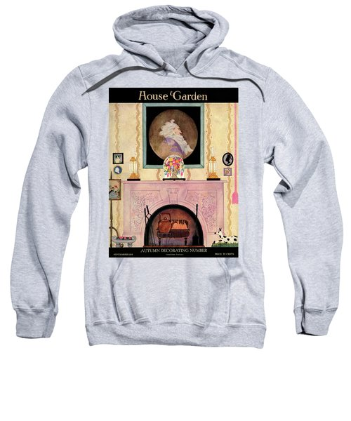 House And Garden Autumn Decorating Number Cover Sweatshirt