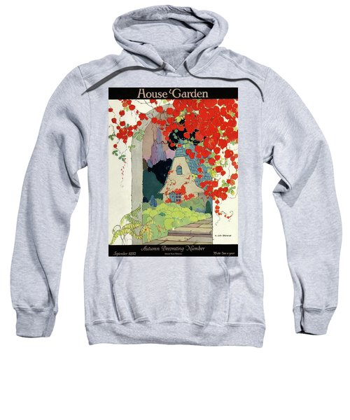 House And Garden Autumn Decorating Number Sweatshirt