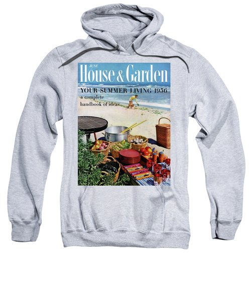 House And Garden Ideas For Summer Issue Cover Sweatshirt