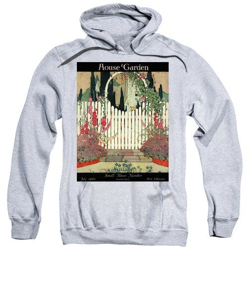 House And Garden Small House Number Sweatshirt