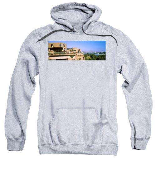 Housing Complex With A Bridge Sweatshirt