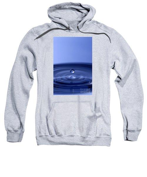 Hovering Blue Water Drop Sweatshirt