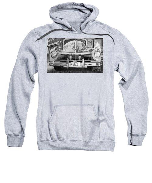 Hudson Dreams In Black And White Sweatshirt