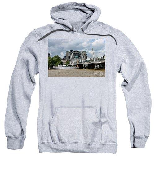Hungerford Bridge And Charing Cross Sweatshirt