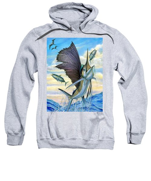 Hunting Of Small Tunas Sweatshirt