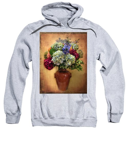 Hydrangea Still Life Sweatshirt
