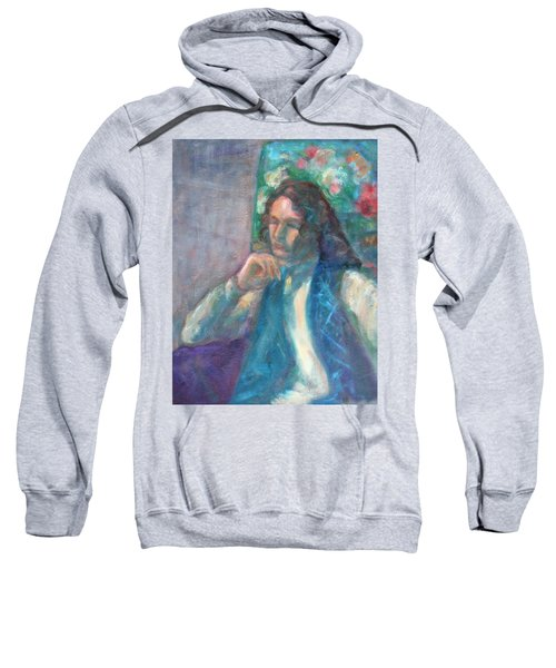 I Am Heathcliff - Original Painting  Sweatshirt