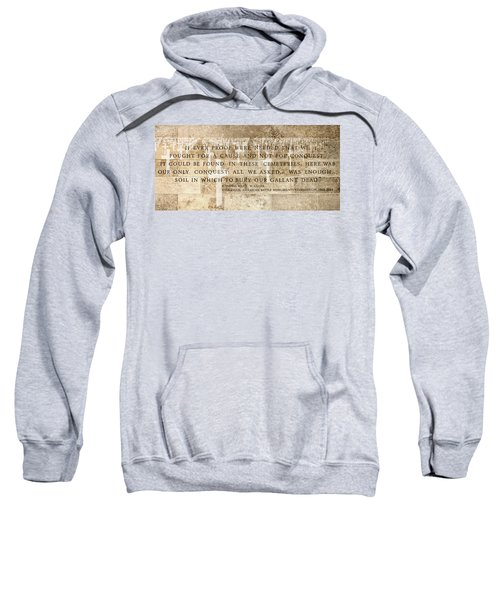 If Ever Proof Were Needed Sweatshirt