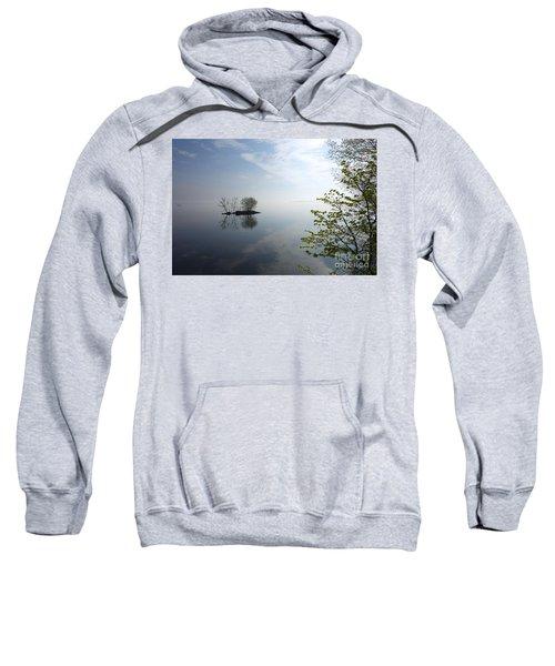 In The Distance On Mille Lacs Lake In Garrison Minnesota Sweatshirt