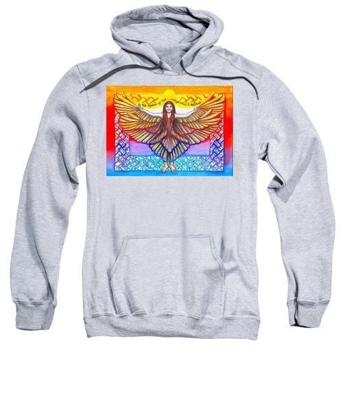 In The Shadow Of Thy Wings Psalms Sweatshirt