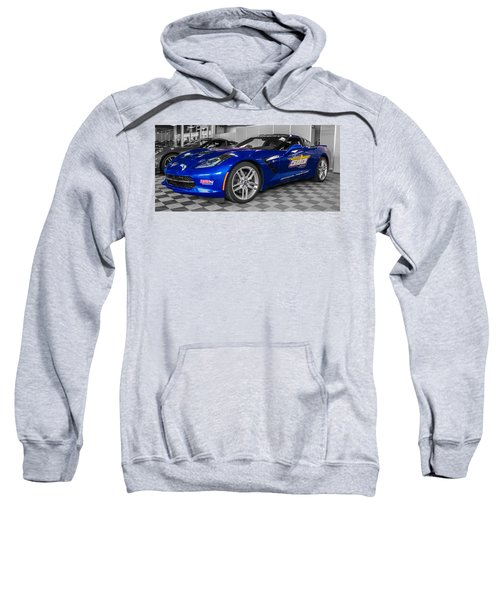 Indy 500 Corvette Pace Car Sweatshirt