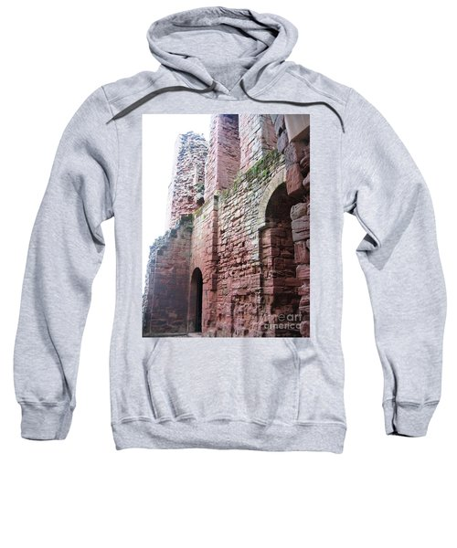 Sweatshirt featuring the photograph Interior Walls by Denise Railey