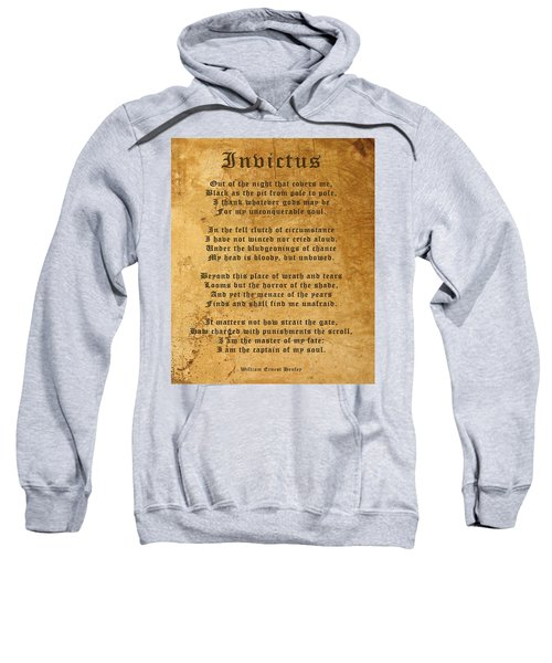 Invictus As A Tribute To Nelson Mandela Sweatshirt