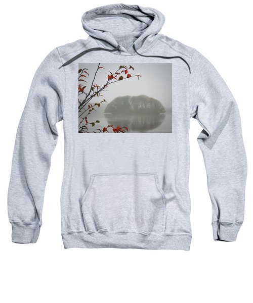 Irish Crannog In The Mist Sweatshirt