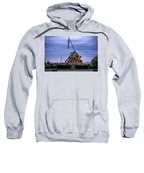 Iwo Jima Monument Sweatshirt