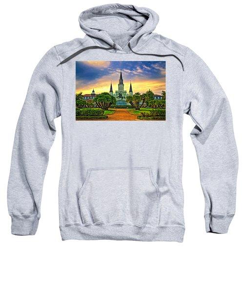 Jackson Square Evening - Paint Sweatshirt