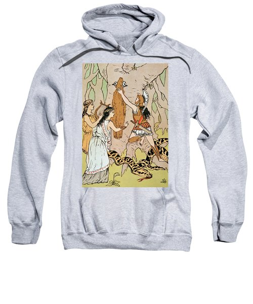 Jason Seizing The Golden Fleece Sweatshirt