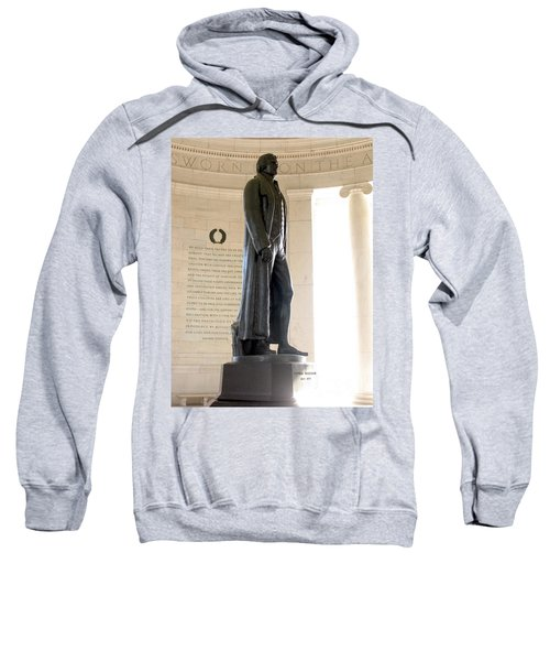 Jefferson Memorial In Washington Dc Sweatshirt