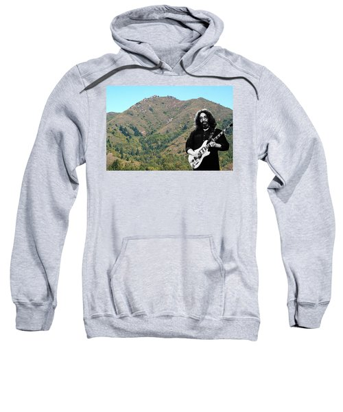 Jerry Garcia And Mount Tamalpais Sweatshirt