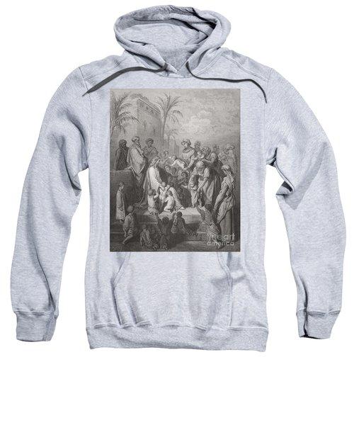 Jesus Blessing The Children Sweatshirt
