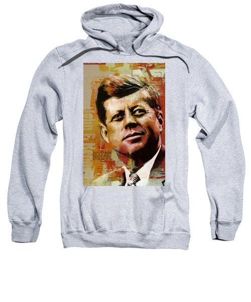 John F. Kennedy Sweatshirt by Corporate Art Task Force